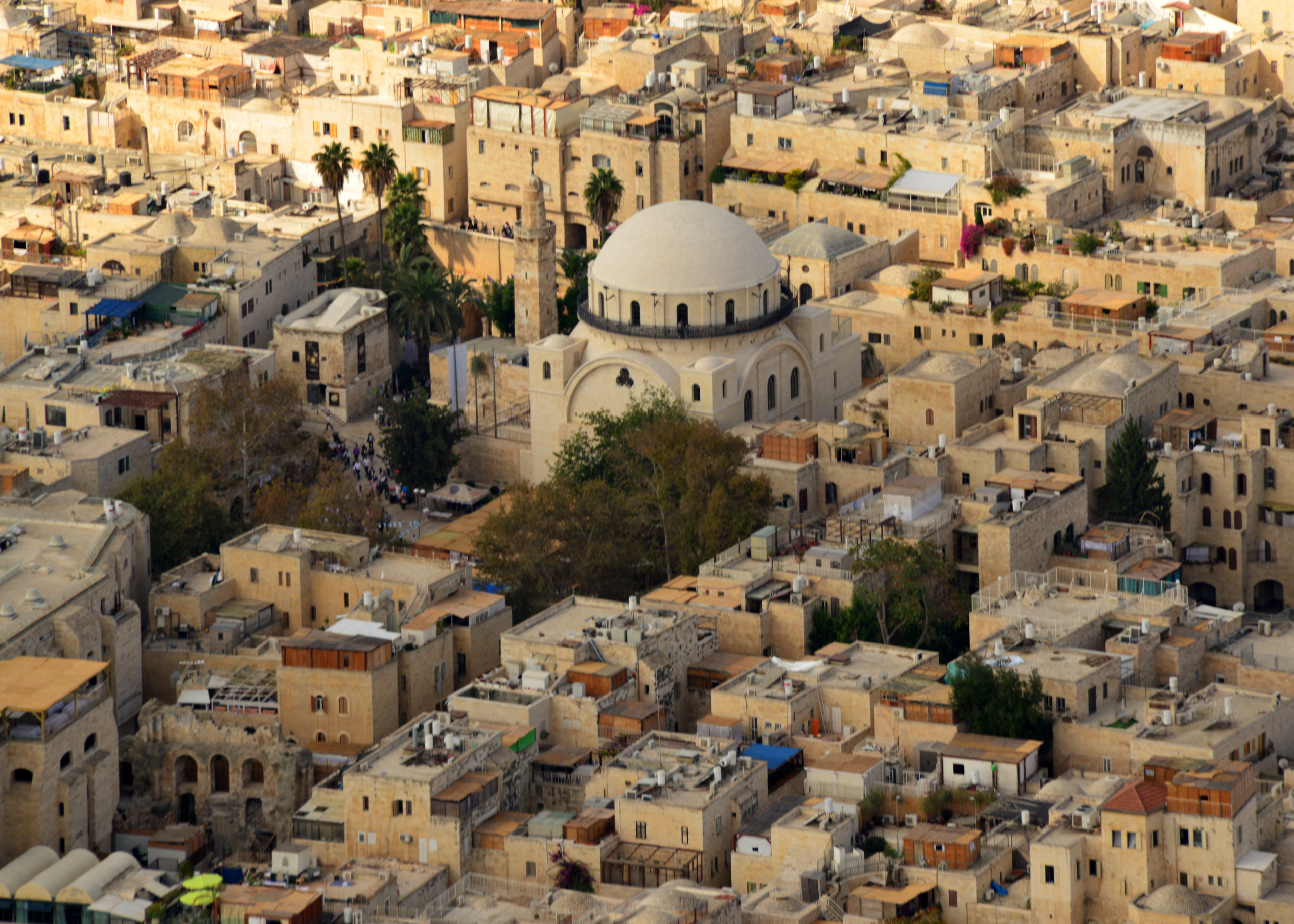 The Jewish Quarter of Yerushalayim's Old City